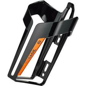 SKS Velocage Porte-bidon, glossy black/orange